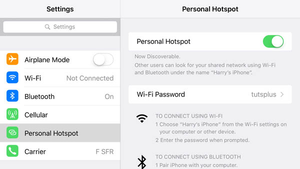 trovare la password wifi da iphone