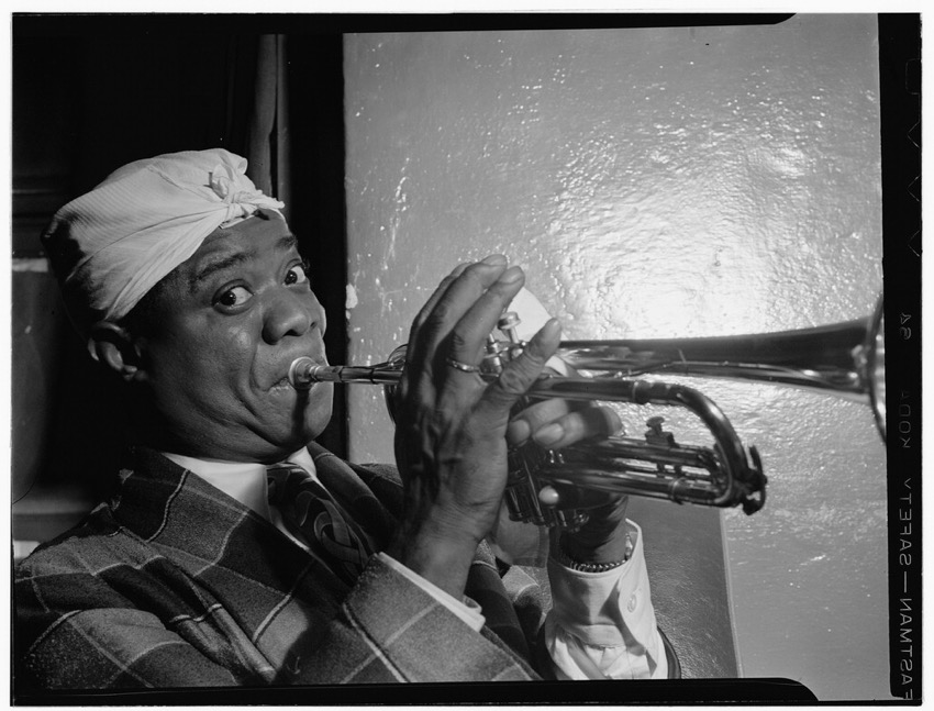 Louis Armstrong Aquarium New York NY ca July 1946