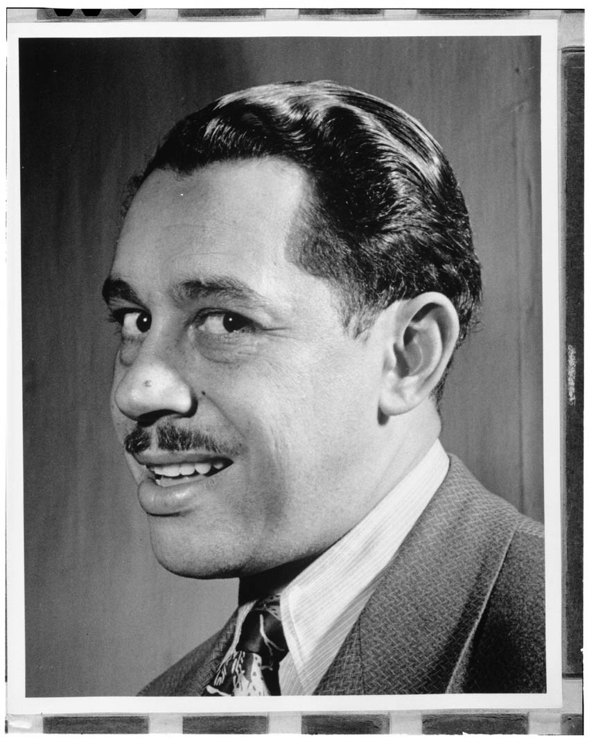 Cab Calloway Columbia studio New York NY ca Mar 1947