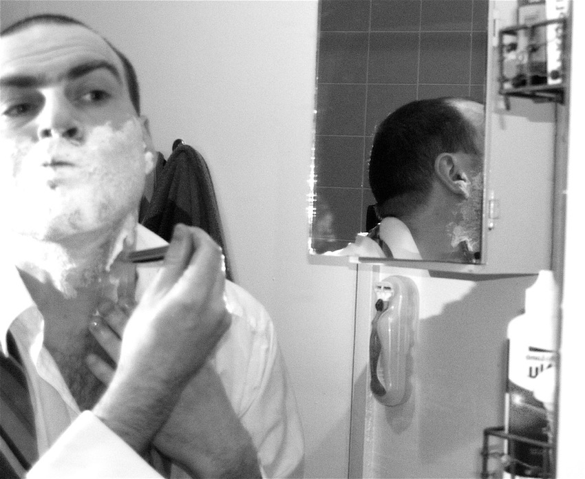 barber self portrait