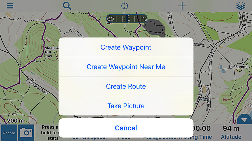 How to Use Gaia GPS to Navigate With an iPhone