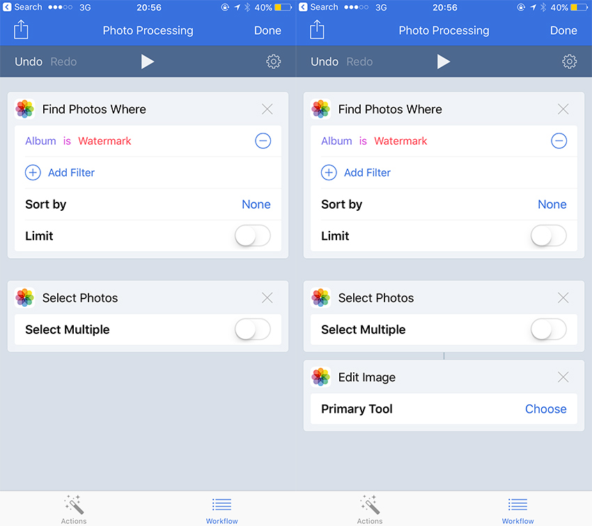 Automating the iPhone With Workflow IV
