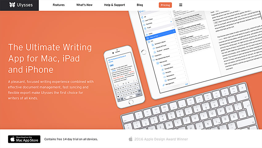 Ulysses Note Taking App