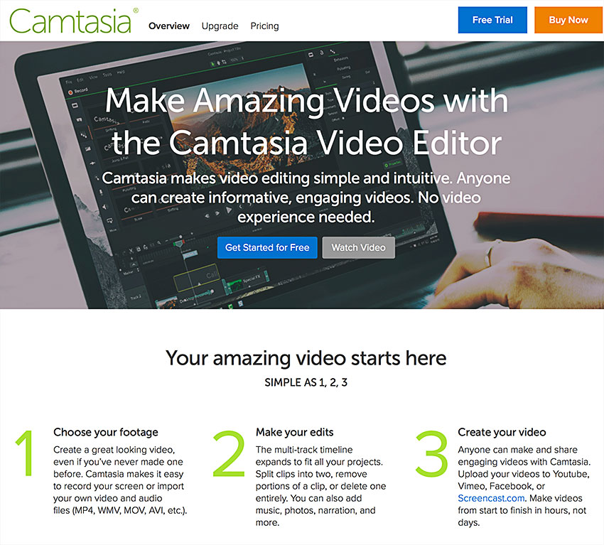 camtasia studio screen recording software