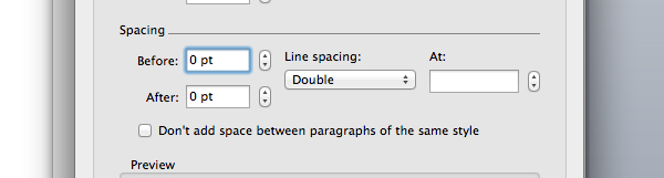 Tweak paragraph text spacing in Microsoft Word