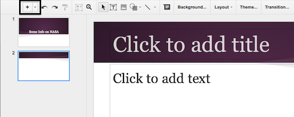 how to turn google slides into a picture