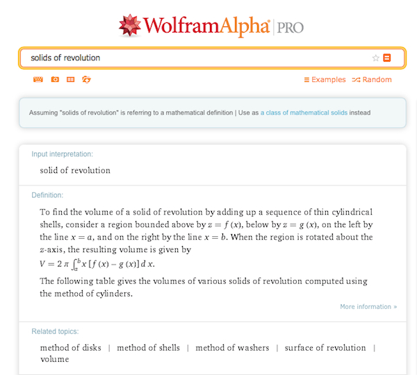 Searching mathematical terms in WolframAlpha provides a pretty thorough explanation