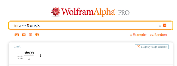 WolframAlpha can solve any math problem