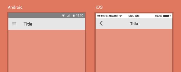 为Android和iOS设计|两个平台的故事