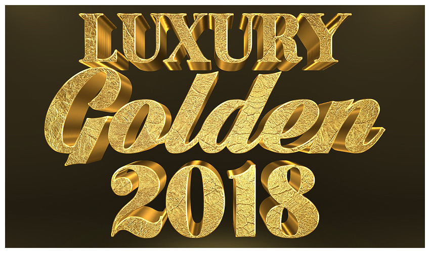 How to Create a 3D Gold Text Effect With Photoshop Layer Styles