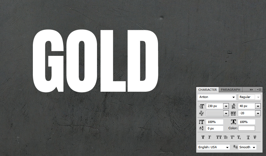 Text and Align for layer style