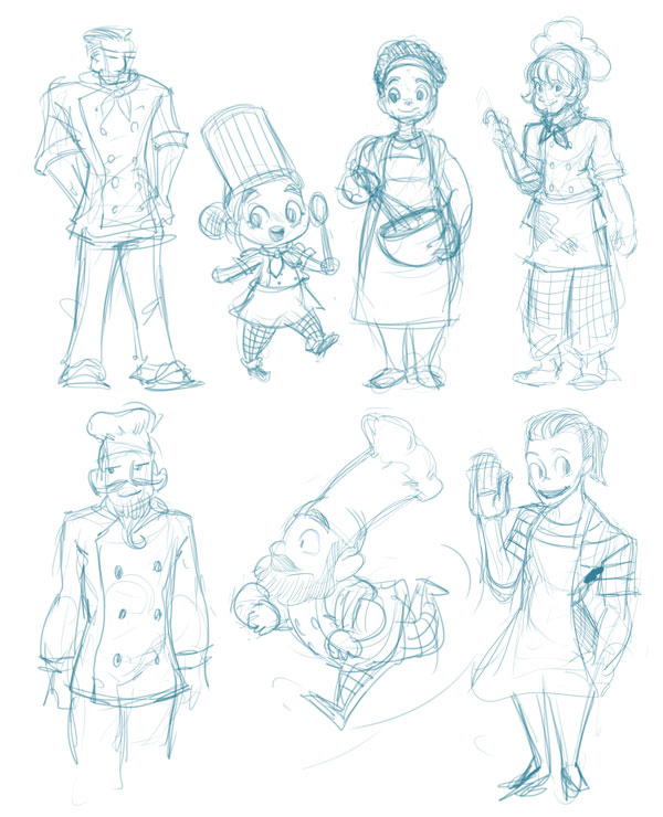 Character Design Requirements : Create a comic character making sheet in