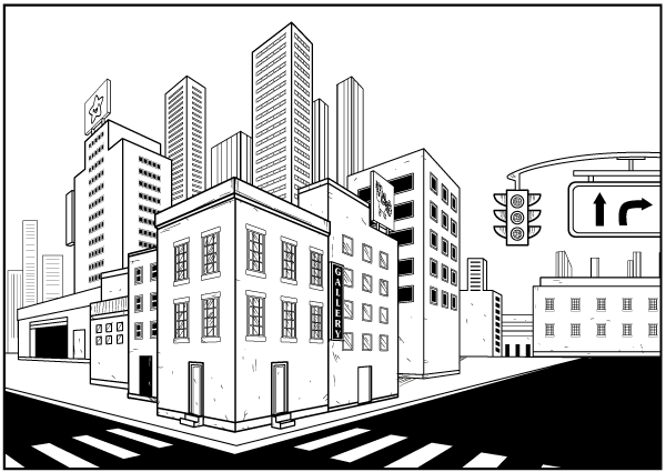 Make An Establishing Shot Using The Perspective Grid Tool