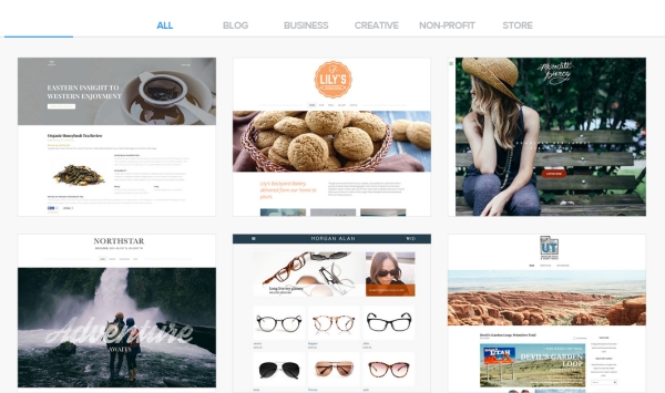weebly site templates