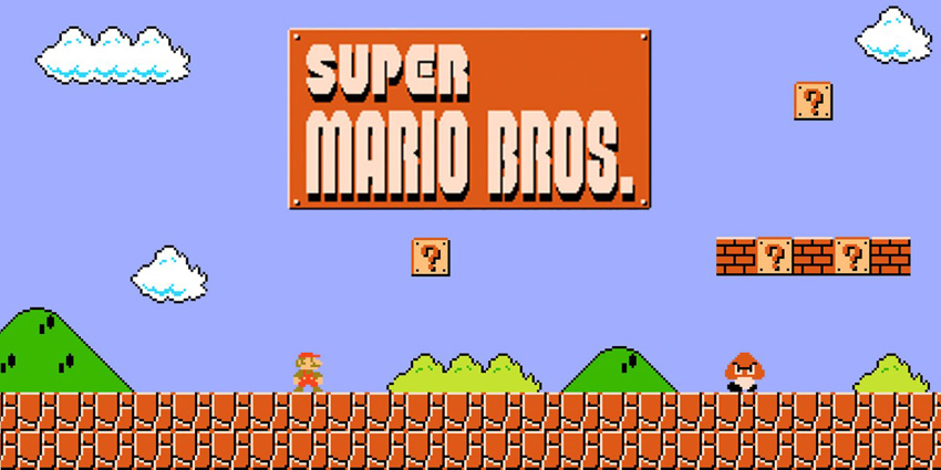 The reason for Super Mario Bros success was certainly not caused by its narrative structure