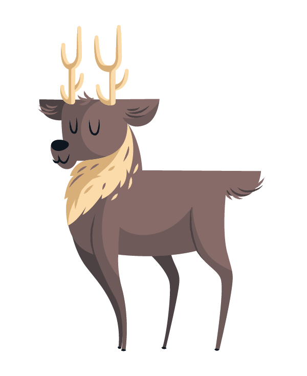 Finished deer