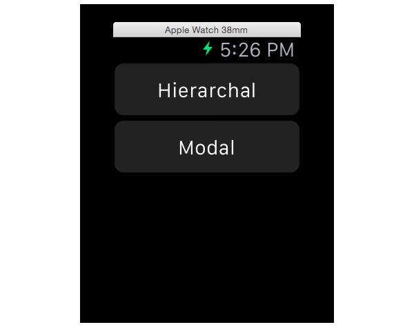 Transition interface