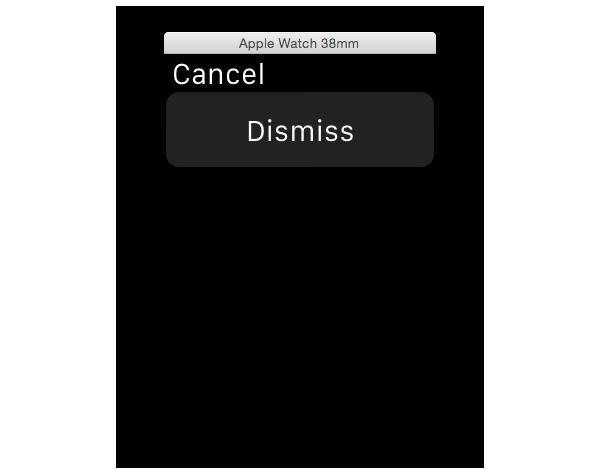 Modal interface