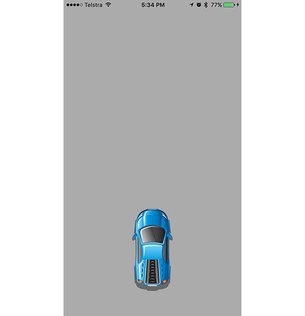 Centered Car in Scene