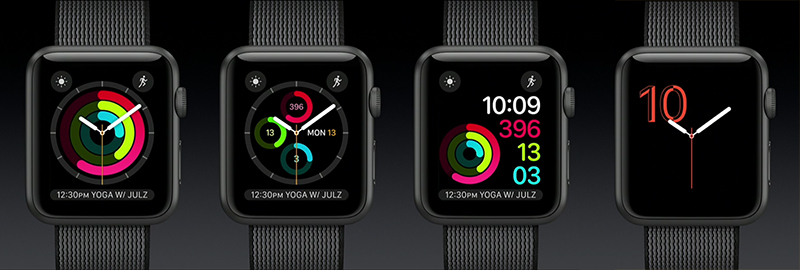 New watchOS 3 Watch Faces