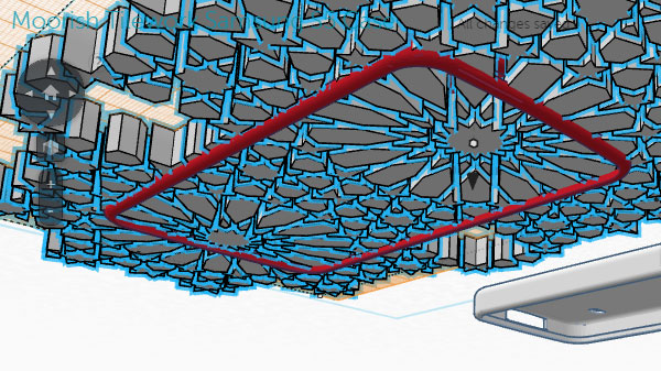 Tinkercad Leaving a strong edge