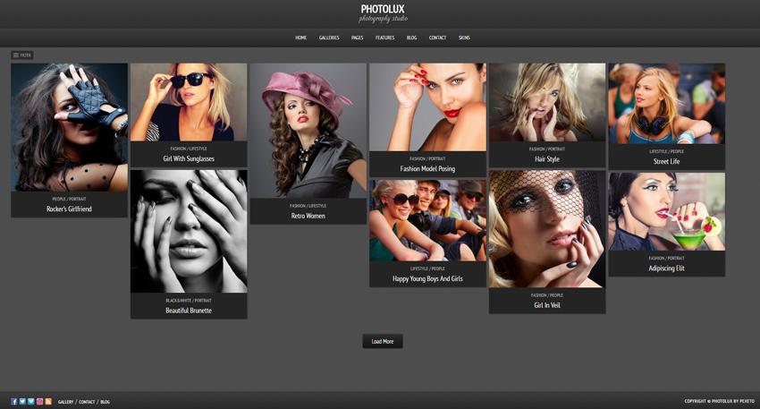 Photolux theme