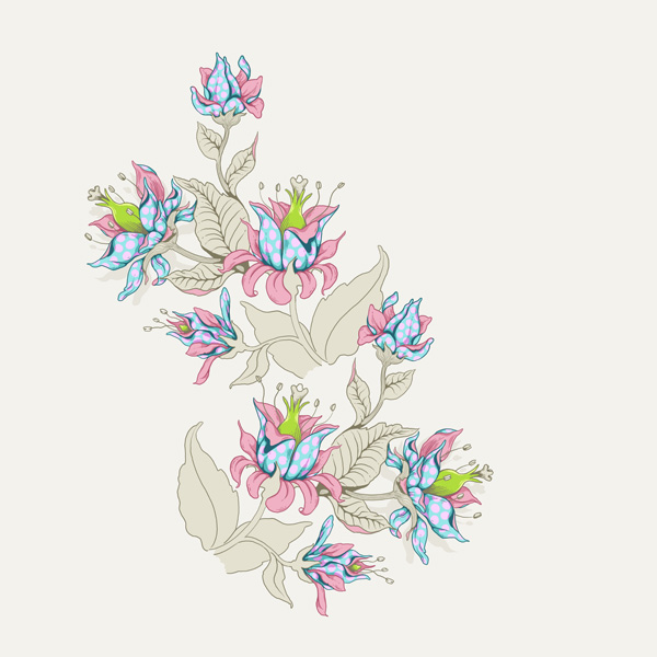 Seamless Fantasy Floral in PS - Aligning Motifs