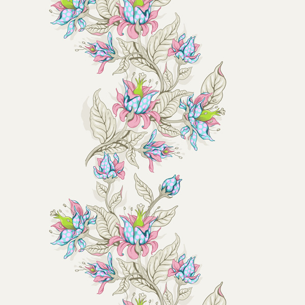 Seamless Fantasy Floral in PS - Fleshing Out the Repeat