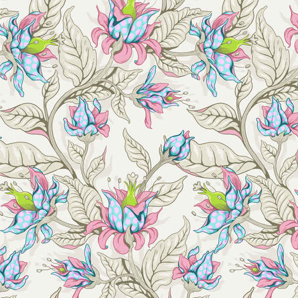 Create A Seamless Fantasy Floral Pattern In Adobe Photoshop Adorable How To Make A Seamless Pattern In Photoshop