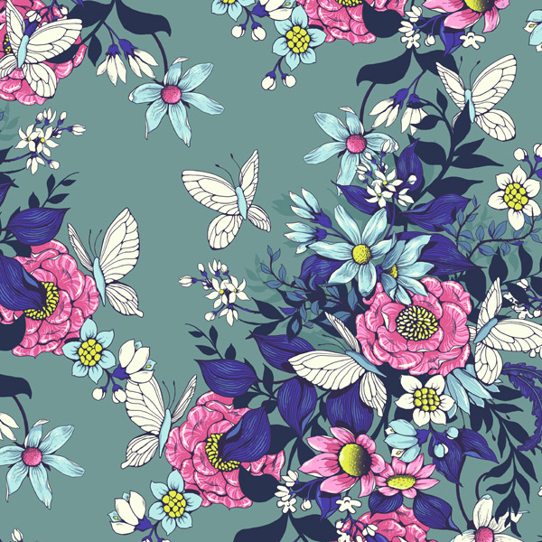 Design A Floral Pattern For Fabric In Adobe Photoshop