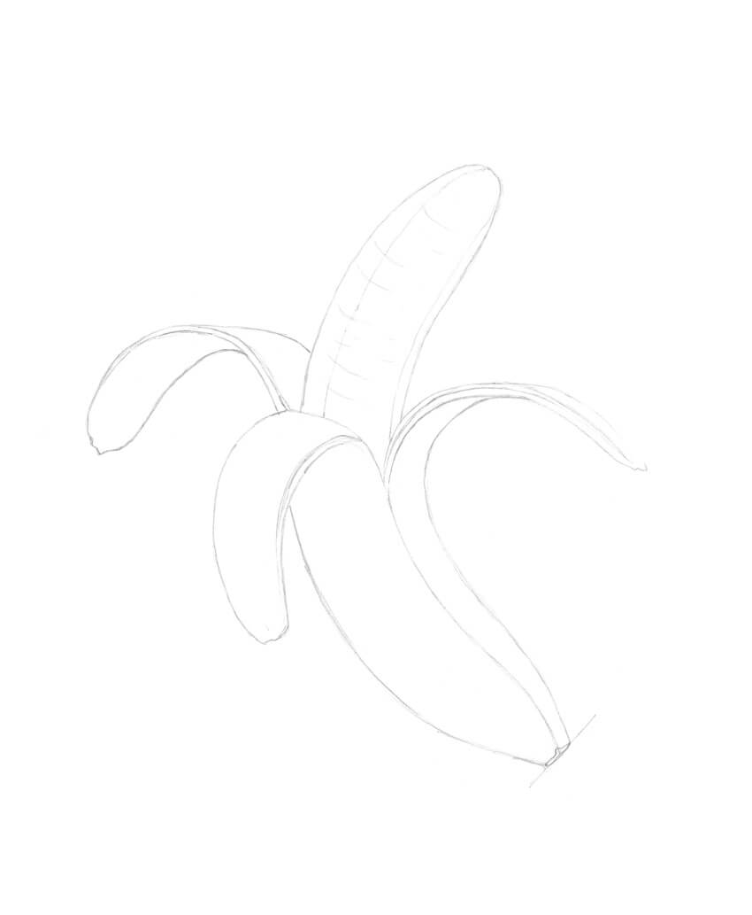 Adding details to the banana