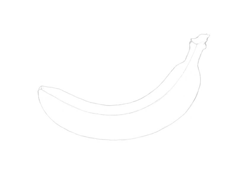 Refining the shape of the banana