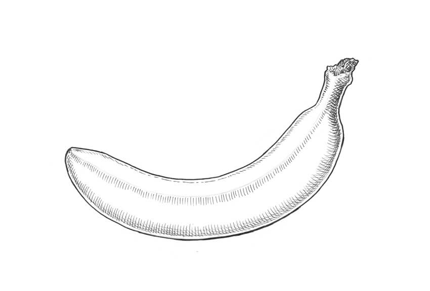 How to Draw a Banana