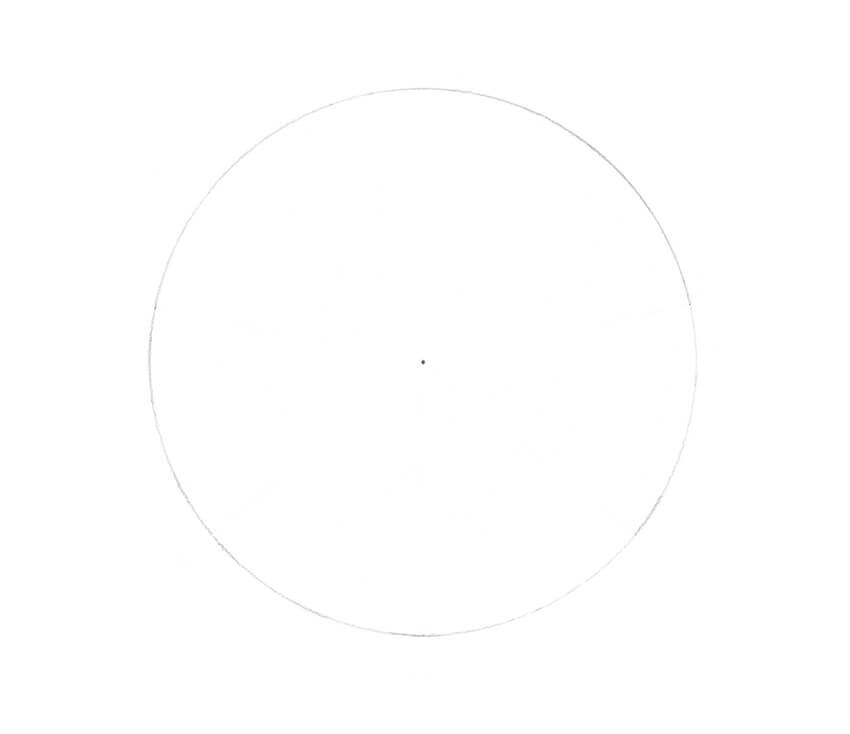 Drawing the circle