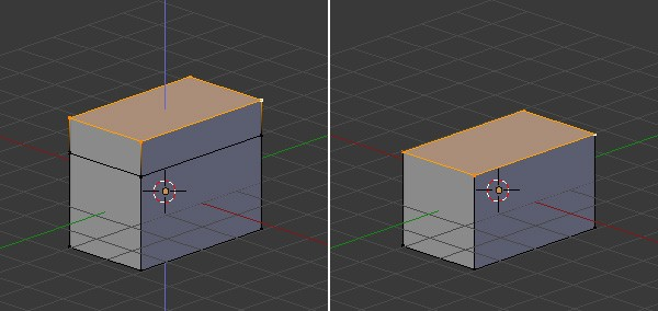 Extrude the face