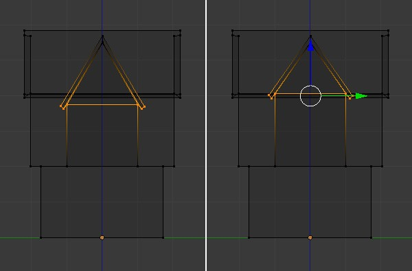 Tweak the vertices