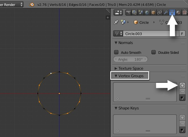 Select alternate vertices and create new vertex group