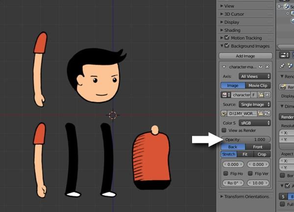 Blender как создать персонажа
