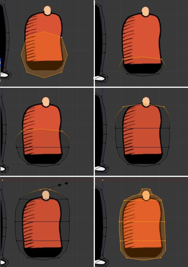 Creating the torso