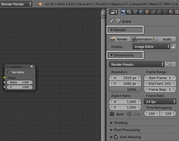 Creating Sticky Labels on a Movie Clip in Blender