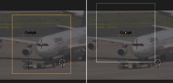 Placing the plane