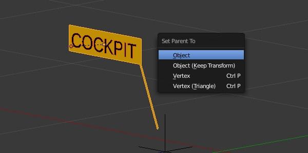 Object relationship settings