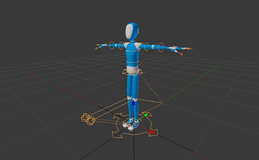 Posable armature object