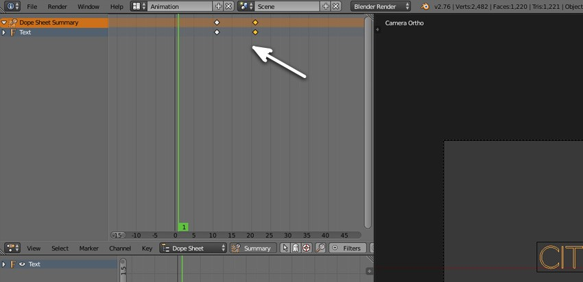 Tweak the keyframes