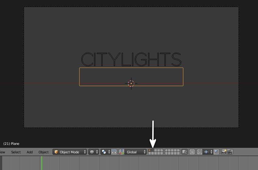 Create a Text Reveal Motion Graphic in Blender: Part 1