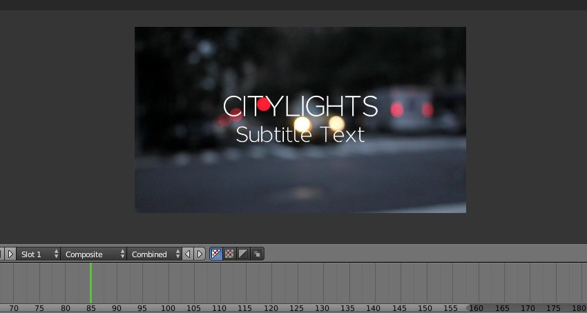 Create a Text Reveal Motion Graphic in Blender: Part 2