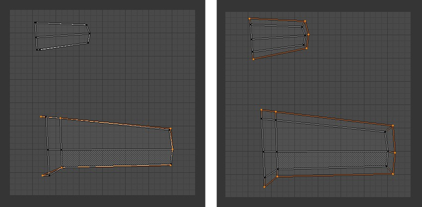 Tweak vertices in UV Editor