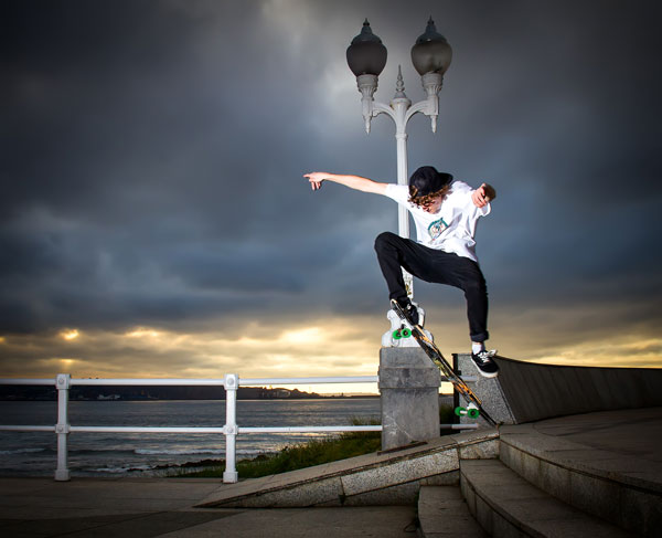 Skateborder