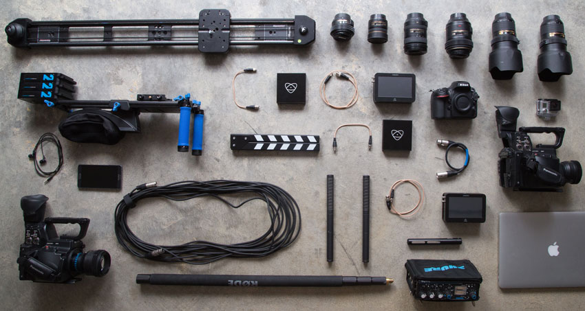 Video camera equipment and rig