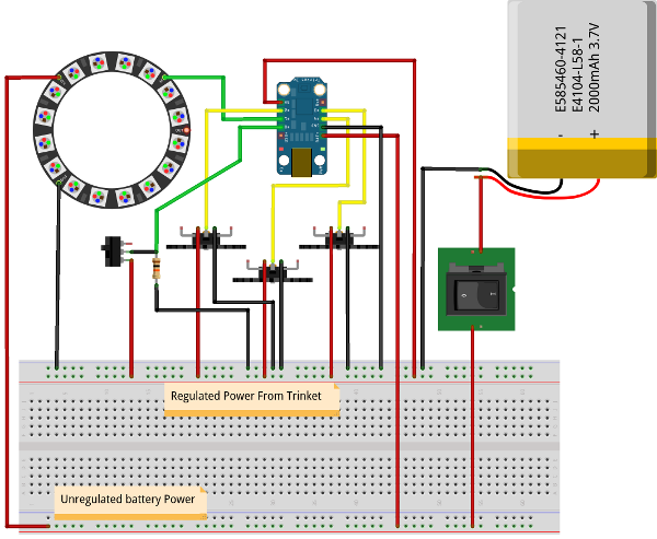 how to build an rgb led flashlight circuit diagram